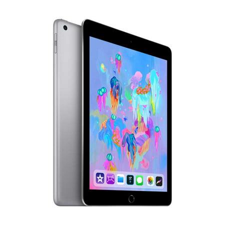 Apple iPad (Latest Model) 128GB Wi-Fi - Space