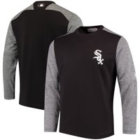 Chicago White Sox Majestic Authentic Collection On-Field Tech Fleece Pullover Sweatshirt - Black