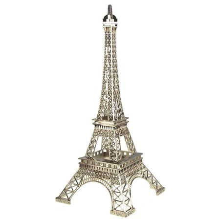 Silver Paris Eiffel Tower Cake Topper Centerpiece - Paris Tower Centerpieces
