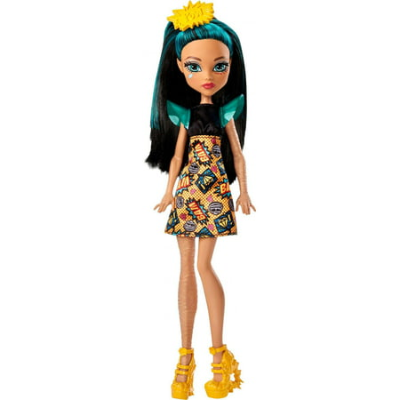 Monster High Cleo De Nile Doll with Comic Book Inspired Dress - Monster High Halloween Doll