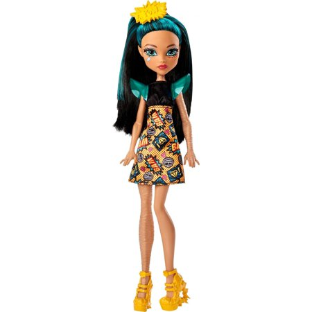 Monster High Cleo De Nile Doll with Comic Book Inspired Dress - Halloween Wolf Monster High Doll