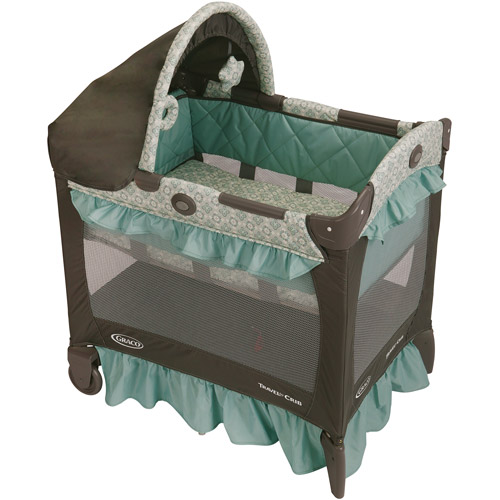 Graco Travel Lite Portable Crib, Winslet