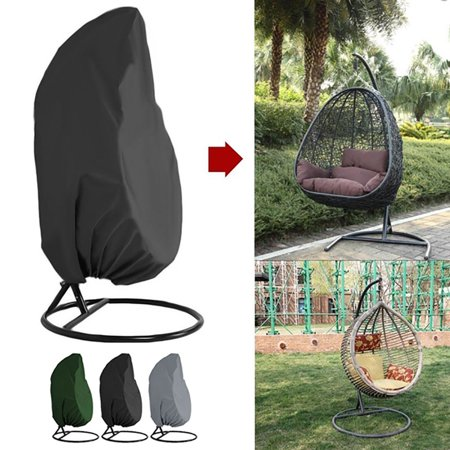 Brilliant Outdoor Patio Hanging Chair Cover Heavy Duty Egg Swing Chair Covers Dust Cover Outdoor Garden Waterproof Protector Pdpeps Interior Chair Design Pdpepsorg