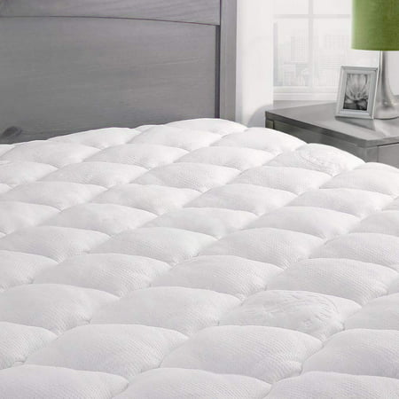- Extra Plush Bamboo Top Mattress Pad