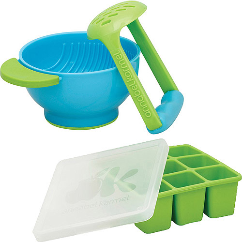 Annabel Karmel FreshFoods Freezer Tray with Mash & Serve Bowl Bundle