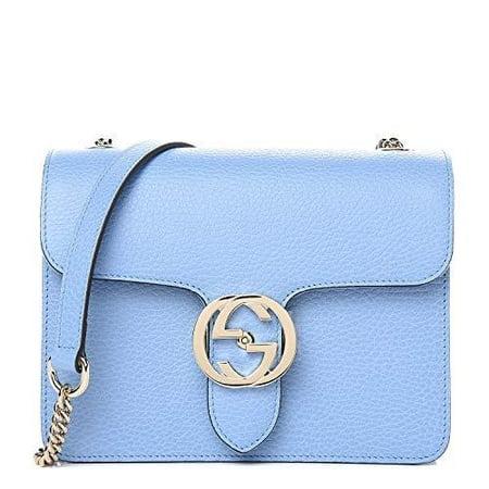 Gucci Soho Leather Shoulder Bag Pink Bright Bouganvillia Leather Handbag
