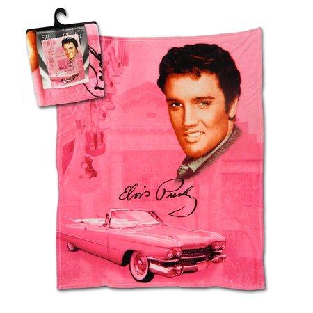 Elvis Presley Pink w/ Guitars 50