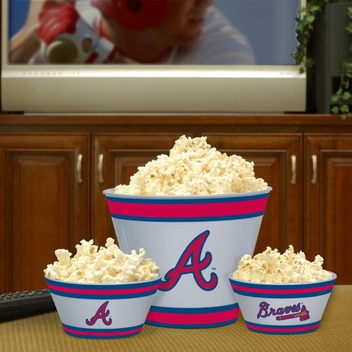 The Memory Company MLB Melamine Serving Bowl Set