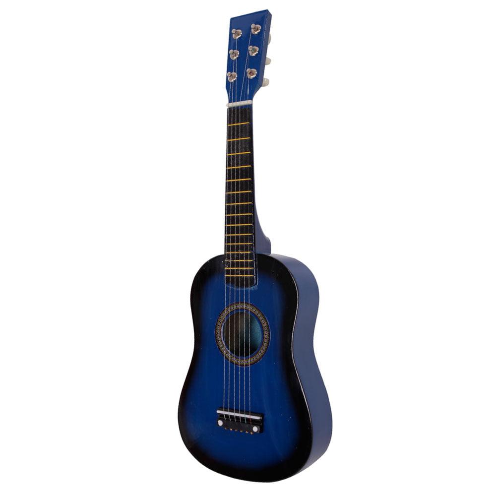 23 string acoustic guitar kids educational toy blue. Black Bedroom Furniture Sets. Home Design Ideas