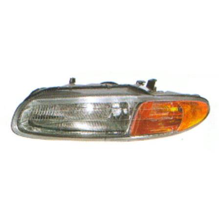 Aftermarket 1996-2000 Chrysler Sebring JX Convertible 2-Door  Driver Side Left Head Lamp Assembly