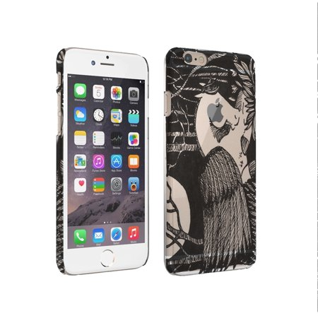 KuzmarK iPhone 6 Clear Cover Case - Pegasus Sleeping pen and  Ink Drawing black and white Art by Denise Every