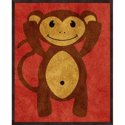 PTM Images 3 Piece Monkeys Framed Art Set
