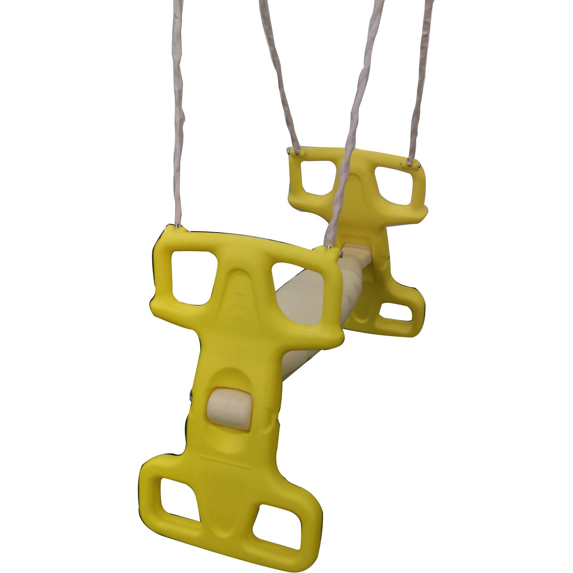 Flexible Flyer Yellow Rocket Rider Tandem Swing Assembly