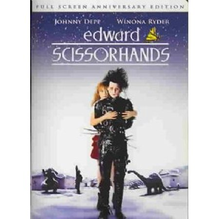 Edward Scissorhands (Full Screen Anniversary Edition) [DVD] - Edward Scissorhands Spirit Halloween