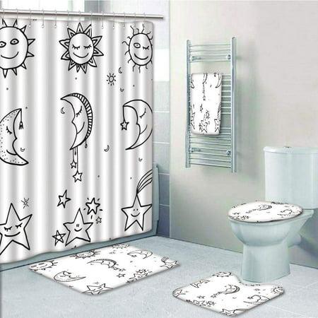 Sun Moon Stars Emoji Kids Nursery Room