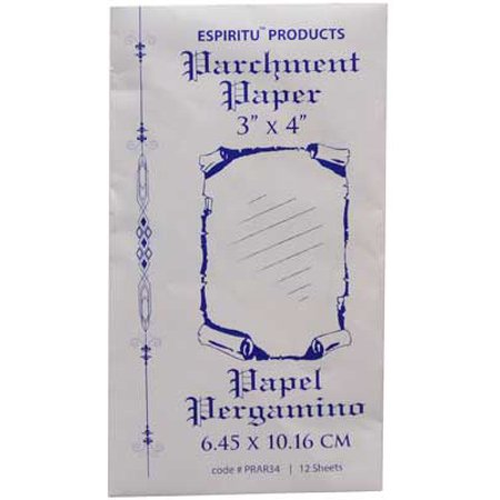 Party Games Accessories Halloween Séance Spell Writing Parchment Paper 12 Pack 3