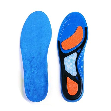 FITTOO Orthotic Insoles for Men & Women, Full Length Plantar Fasciitis Inserts with Hight Arch Support, Sports Orthopedic Gel Shoes Insoles for Supination, Flat Feet, Heel & Foot