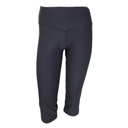 Nike Womens Slim Fit Yoga Capris with Dri Fit - Black - Walmart.com
