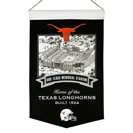 Texas Longhorns Winning Streak Texas Memorial Stadium Football Banner (15