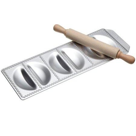 CucinaPro 127-06 Raviolamp Pasta Molds, 6-Pierogi