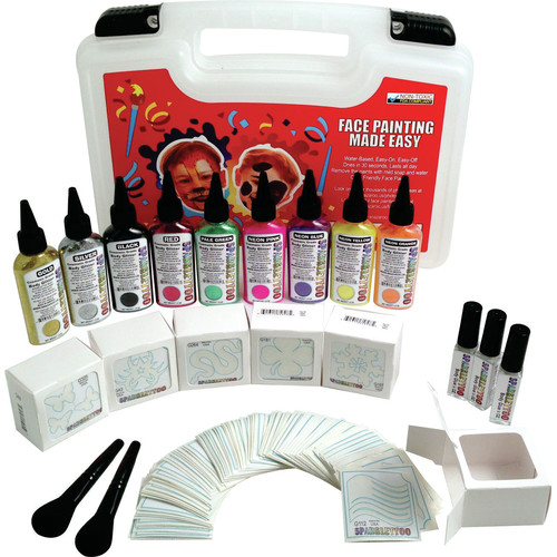 RUBY RED PAINT, INC. 614 Piece Professional Glitter Kit