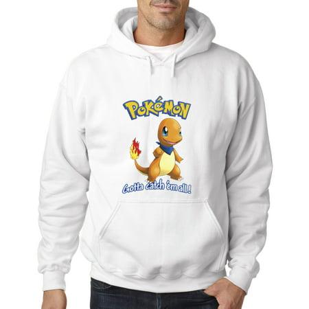 560 - Hoodie Pokemon Go Gotta Catch 'Em All Charmander Sweatshirt](Pokemon Hoody)