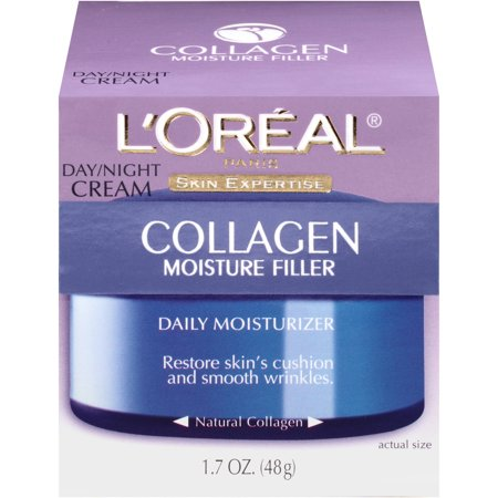 L'Oreal Paris Collagen Moisture Night Cream Face Moisturizer, 1.7oz