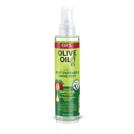 ORS Olive Oil with Grapeseed Oil 2-N-1 Shine Mist & Heat Defense 4.6