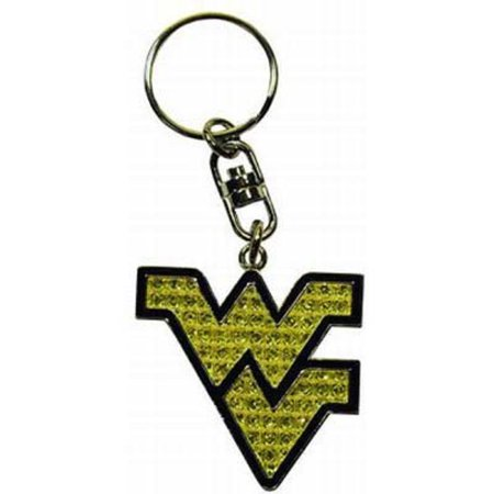 West Virginia University Emblem Keychain (West Virginia University Halloween)
