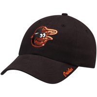 Women's Fan Favorite Black Baltimore Orioles Sparkle Adjustable Hat - OSFA