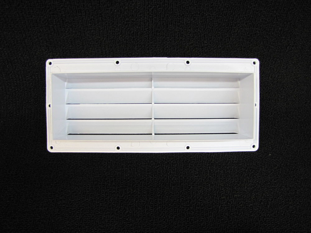 RV Parts Ventline Exterior Sidewall Vent Range Hood Stove White w/Install  Kit