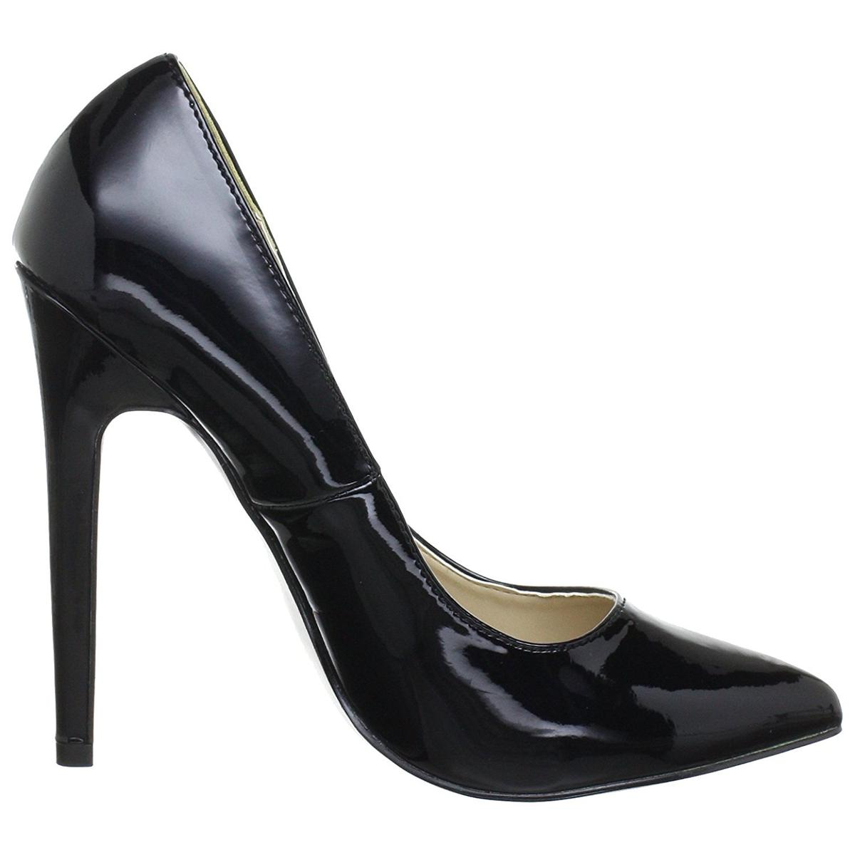 Pleaser Sexy-20/B Womens Black Heels Economical, stylish, and eye-catching shoes