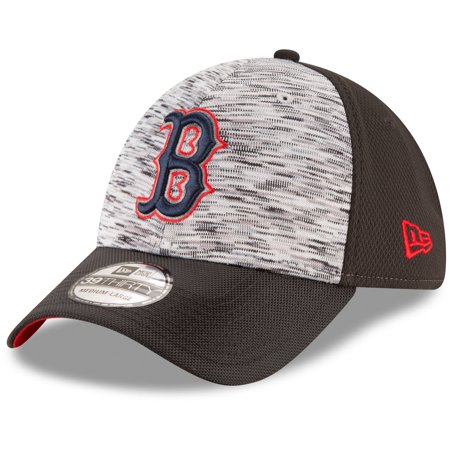 Boston Red Sox New Era Shadow Faded 39THIRTY Flex Hat - Graphite Black c92353e7069a