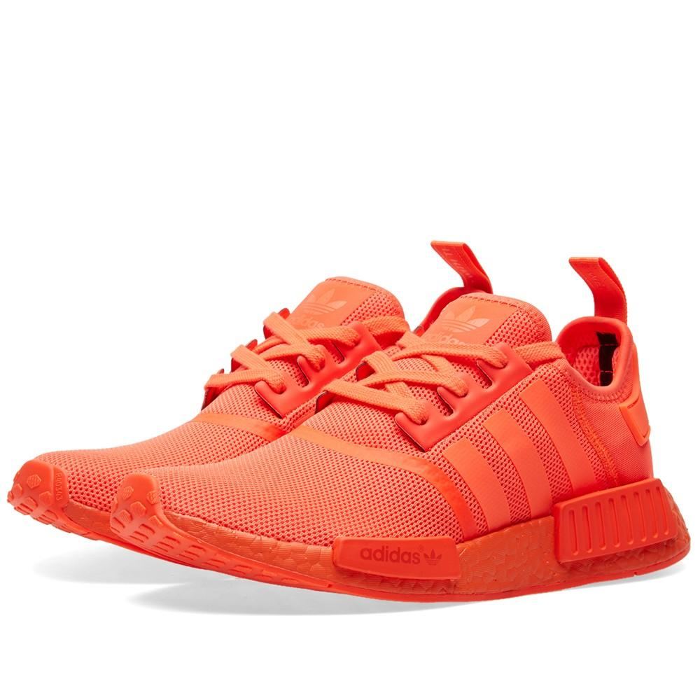 Adidas MENS NMD_R1 'SOLAR RED' - S31507-10 - S31507
