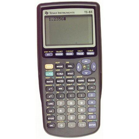 Refurbished Texas Instruments TI-83 Graphing Calculator Handheld TI83](Halloween Graphing)