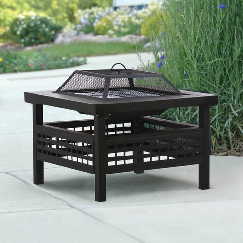 Deckmate Sonoma Steel Wood Burning Fire pit