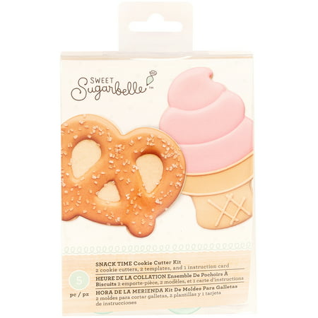American Crafts Sweet Sugarbelle Specialty Cookie Cutter Set 5/Pkg-Snack Time