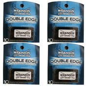 Wilkinson Sword Double Edge Razor Blades, 10 ct. (Pack of 4)