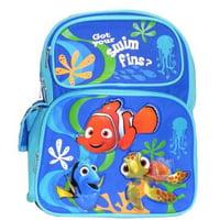 Medium Backpack - Finding Nemo - Got Your Swim Fins? New 015779