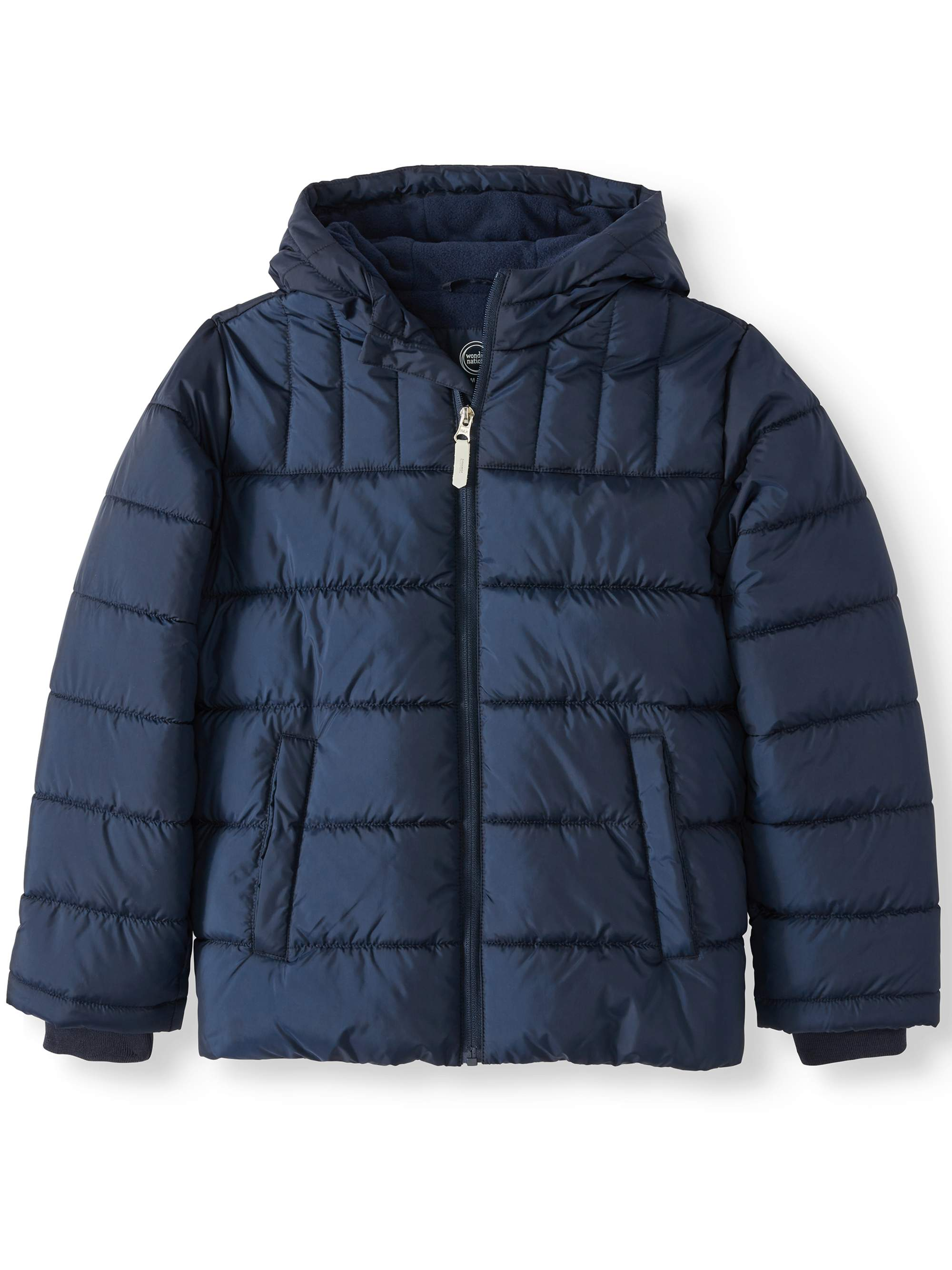 bc25f7ab6f55 Wonder Nation - Bubble Jacket (Little Boys   Big Boys) - Walmart.com