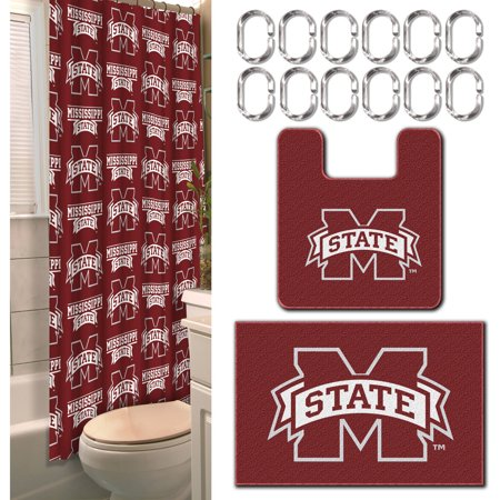 Mississippi State Bulldogs NCAA 15-Piece Bath Set - Walmart.com