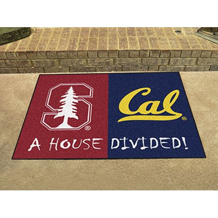 """Stanford - Cal House Divided Rug 33.75""""x42.5"""""""