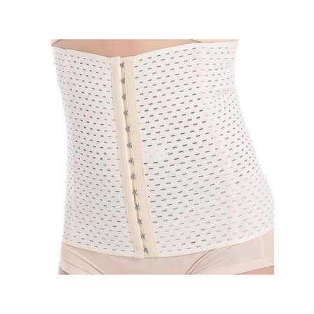 VICOODA Womens Trainer Waist Shapers Warm Breathable Corset Slimming Belt Body Shaper Back Brace Slimming Modeling Strap Belt - Fabric Corset Model