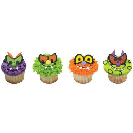 Scary Eyes Cupcake Rings 12 - Scary Eye Shapes