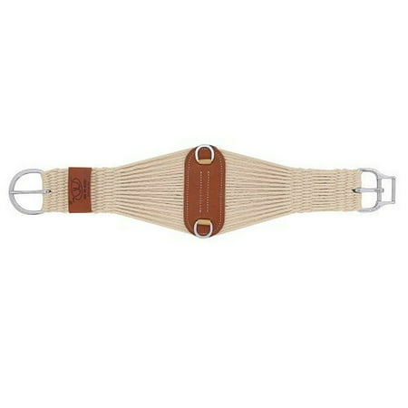 Cinch Natural - Weaver 35-2405-36 Natural Blend 27 Strand Roper Smart Cinch Buckle 36