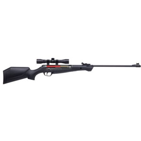 4x32 Air Riflescope - Crosman Shockwave NP CSNP2SX Nitro Piston Tech Hunting Air Rifle w/4x32 Scope