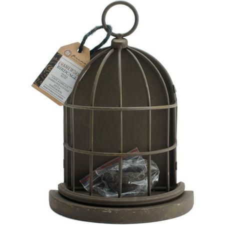 Prima Marketing Frameworks Metal Birdcage  Rust  7   X 5   X 2 5