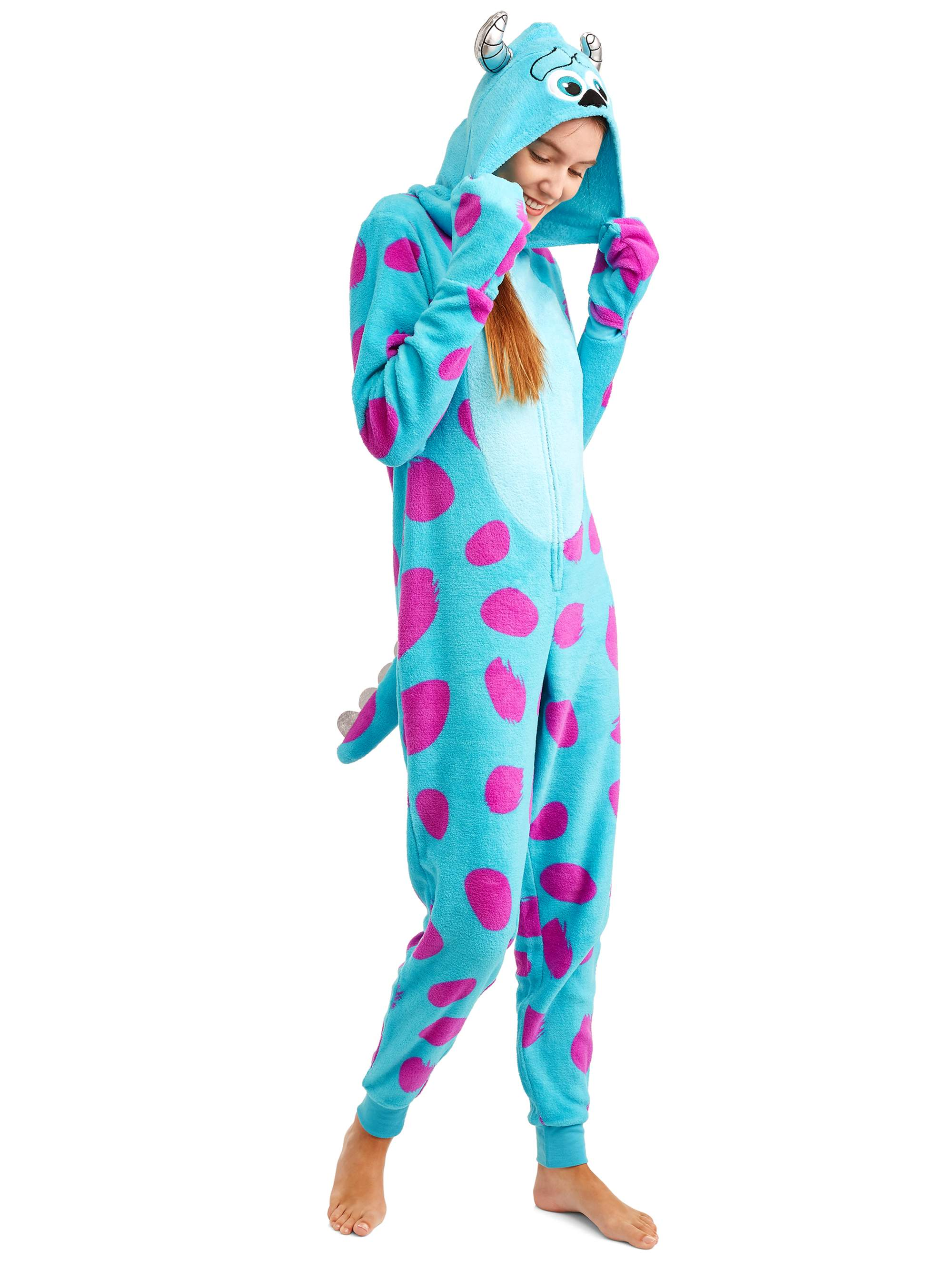 Disney Disney Monsters Inc Women S And Women S Plus Sulley Union Suit Walmart Com Walmart Com