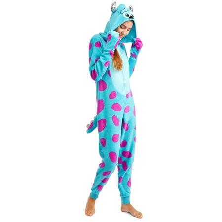 Disney Monsters, Inc Women's and Women's Plus Sulley Union Suit - Sulley Monsters Inc