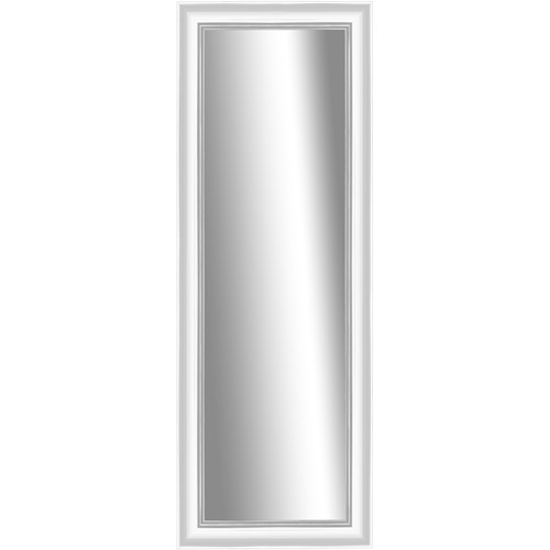 Verona White Stand-Up Mirror